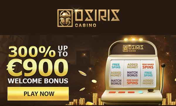 osiris casino 200% deposit bonus