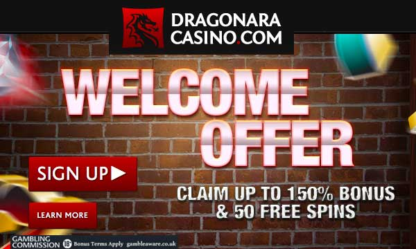 dragonara casino 150% bonus