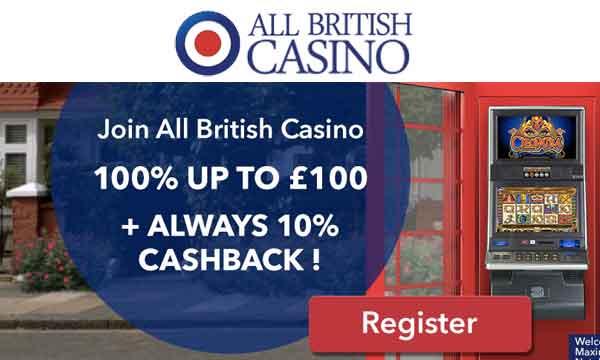 all british casino 100 casino bonus
