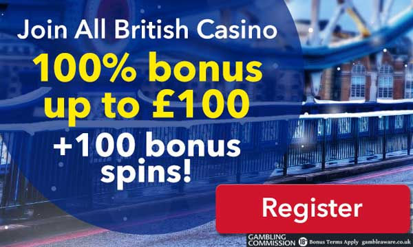 all british casino first deposit bonus