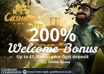 casimba 200 deposit bonus