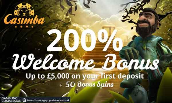 casimba casino deposit bonus