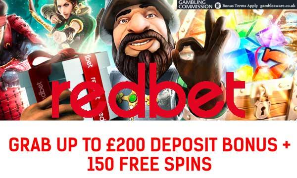 redbet casino deposit bonus
