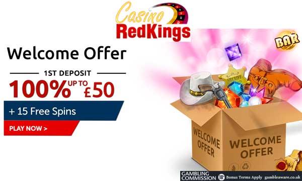 redkings casino 100 deposit bonus