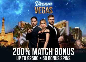 dream vegas 200% casino bonus