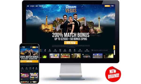 dream vegas mobile casino bonus