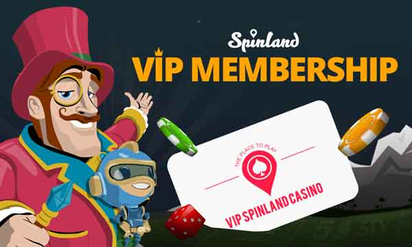 spinland vip program