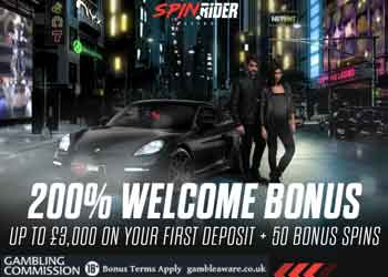 spin rider casino 200 deposit bonus