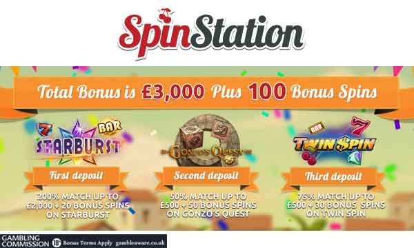 spin station casino bonus