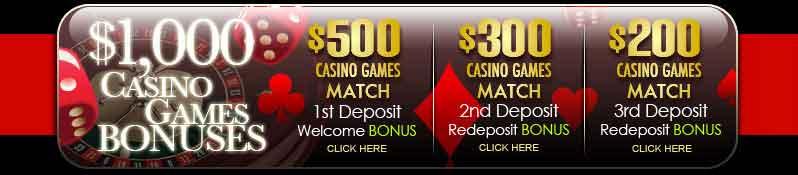 superior casino games bonus