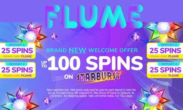 flume casino bonus