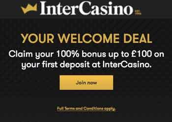 click to play at intercasino
