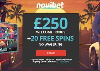 Click to play at Novibet Casino