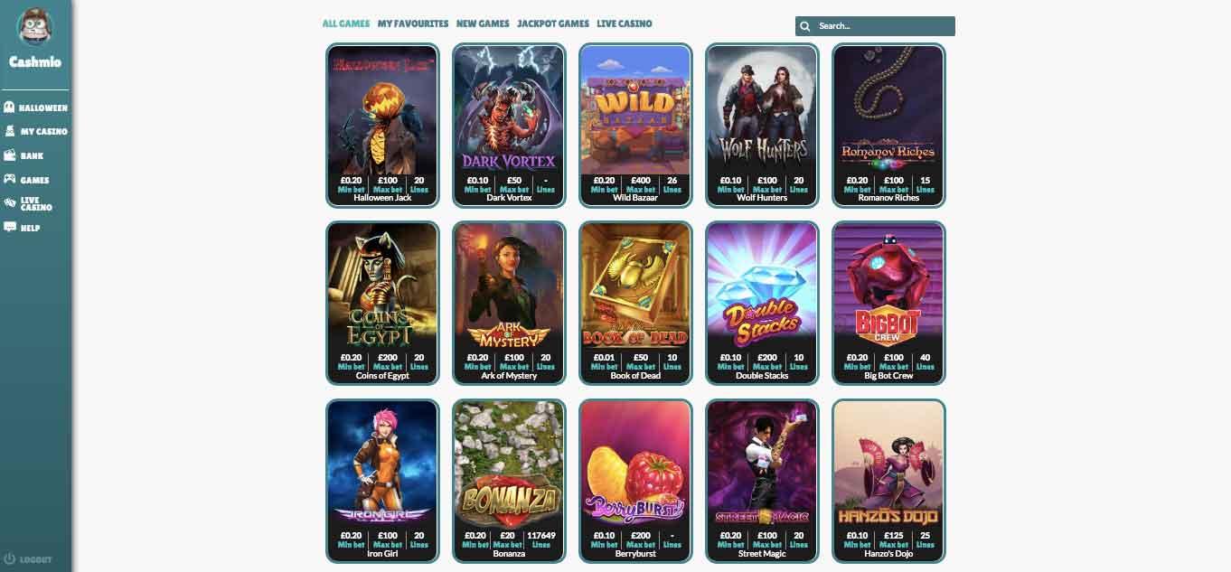 click to visit cashmio casino today