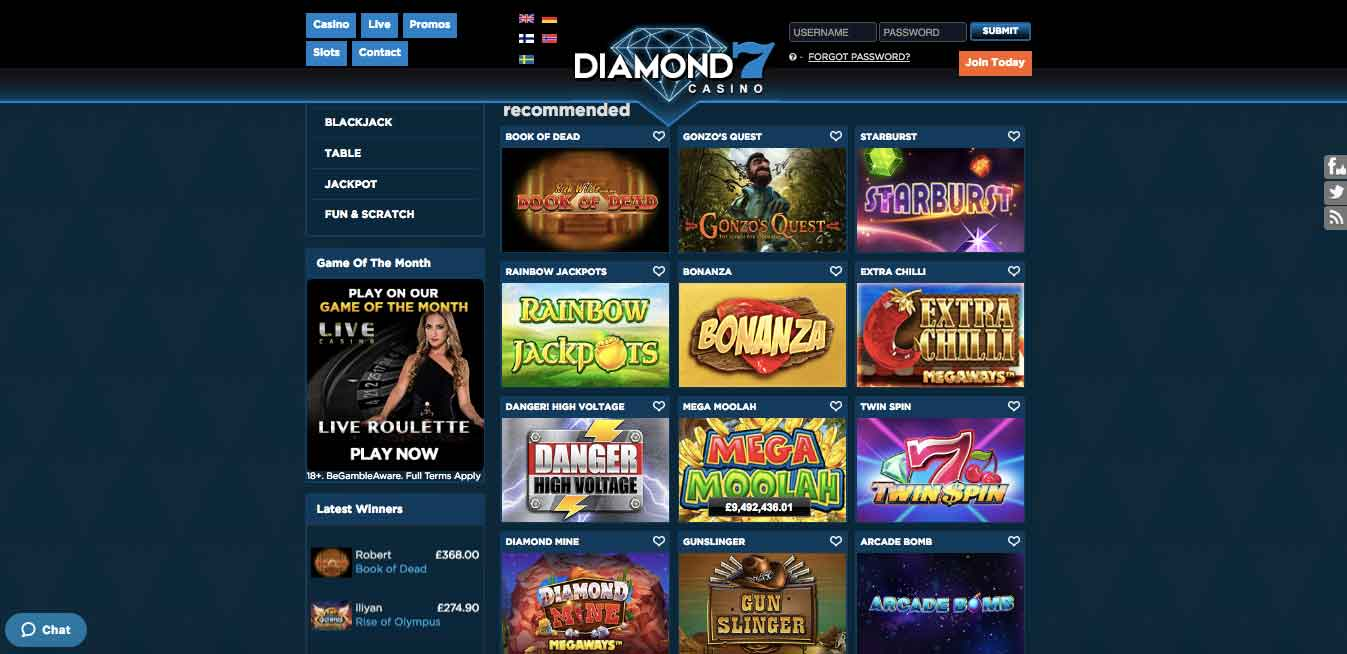 click to visit diamond 7 casino