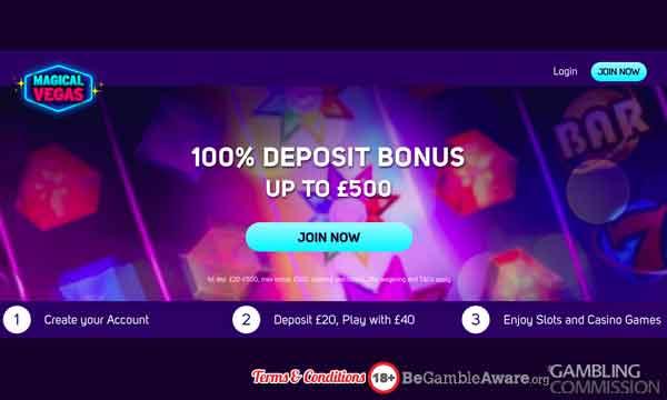 magical vegas casino bonus