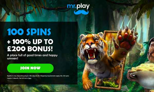 mr play casino bonus