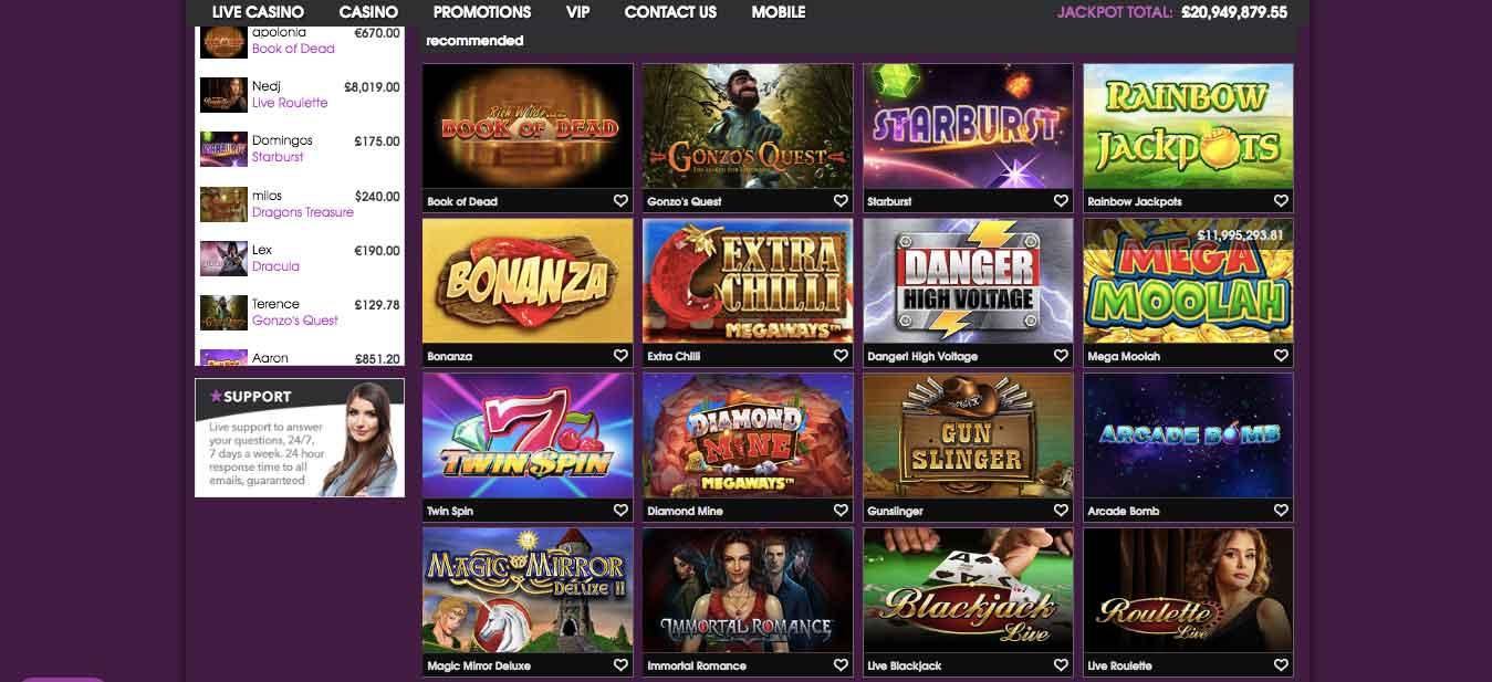 click to visit 21prive casino