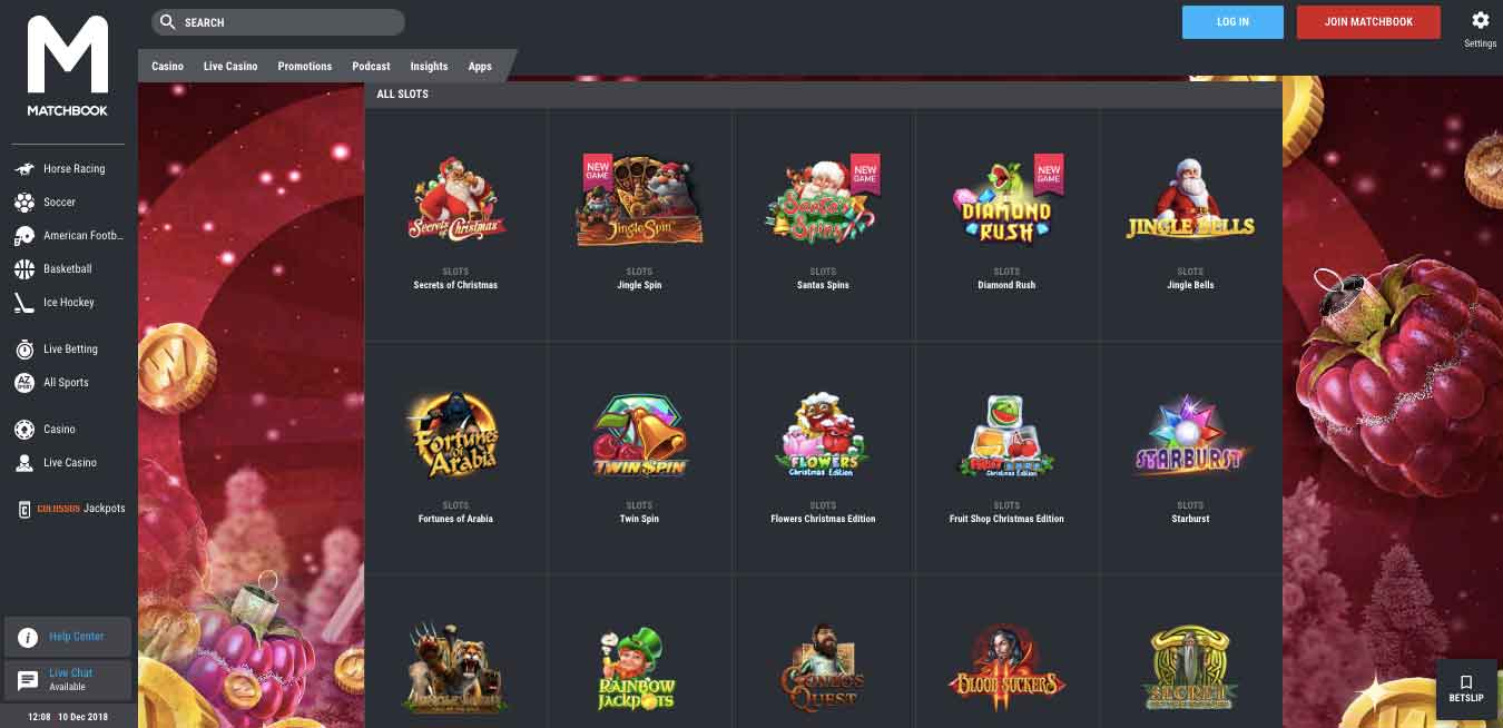 click to visit matchbook casino