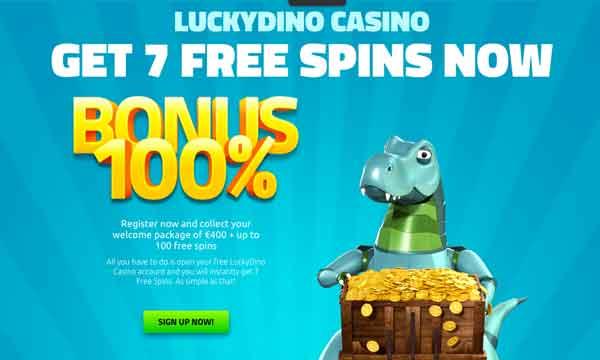luckydino casino free spins no deposit no wagering bonus