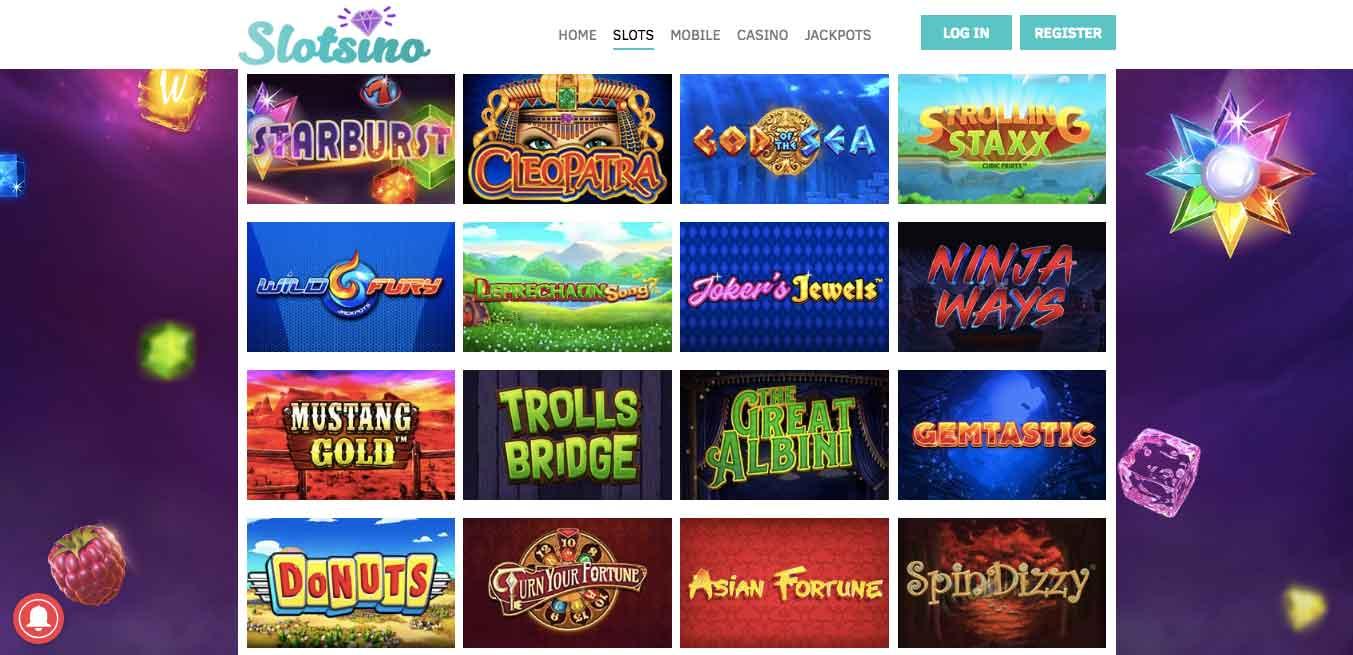 click to visit slotsino casino
