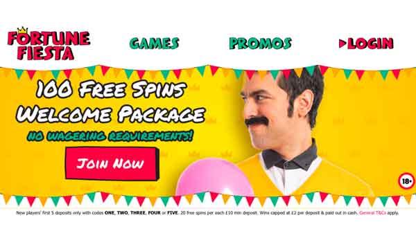 fortune fiesta casino bonus