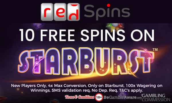 red spins casino bonus