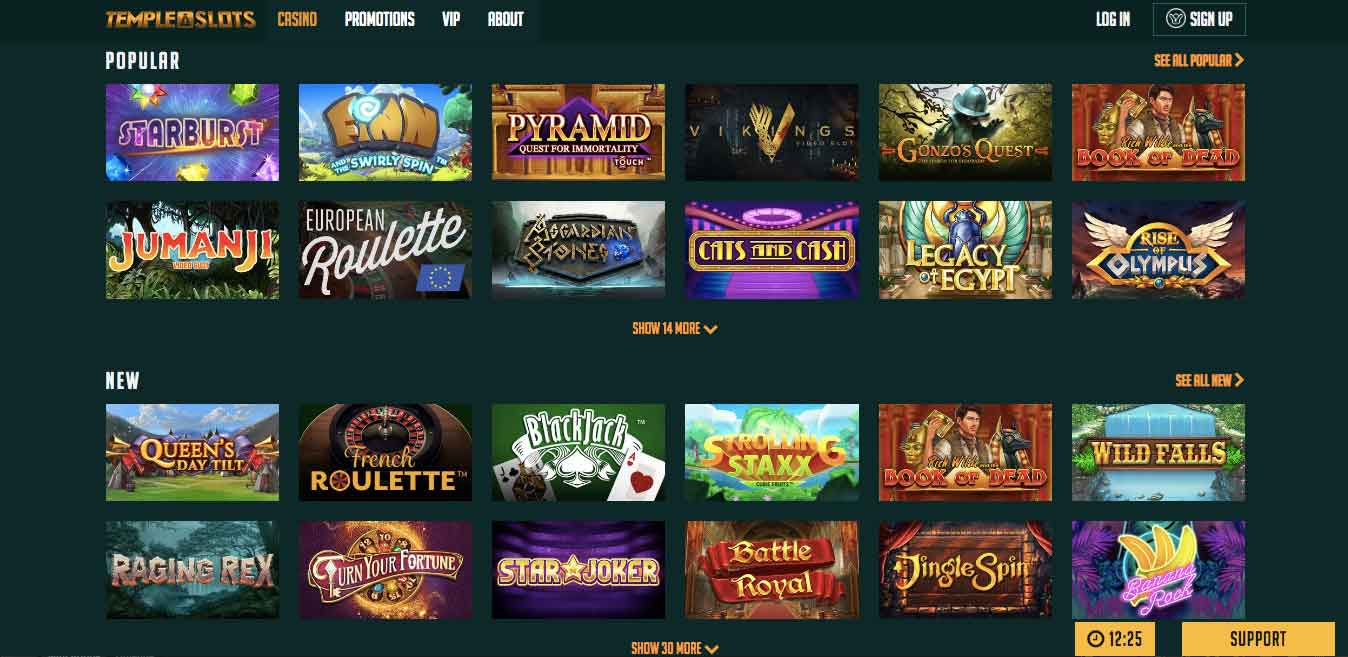 click to visit temple slots