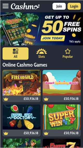 click to play at cashmo casino