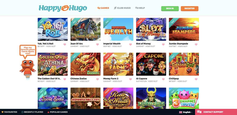 click to visit happy hugo casino