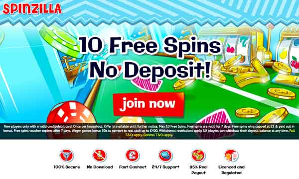spinzilla casino bonus