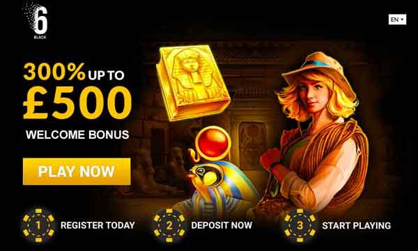 6black casino bonus