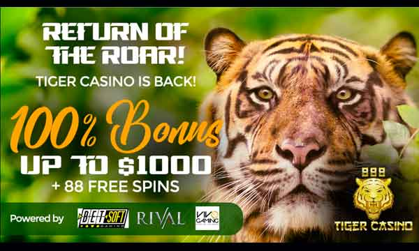 888 tiger casino bonus