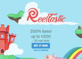 reeltastic welcome bonus