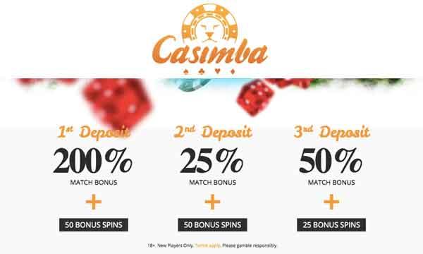 casimba casino free spins bonus