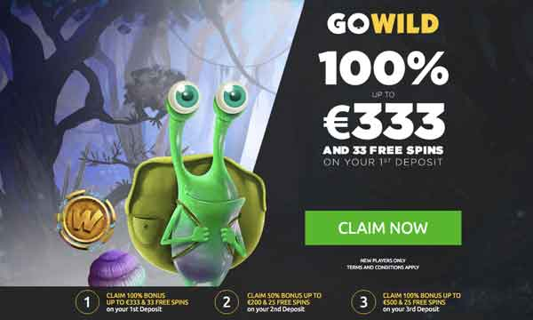 gowild welcome bonus