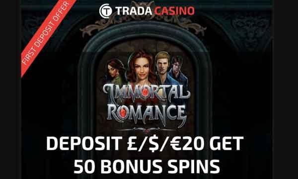 trada casino free spins bonus