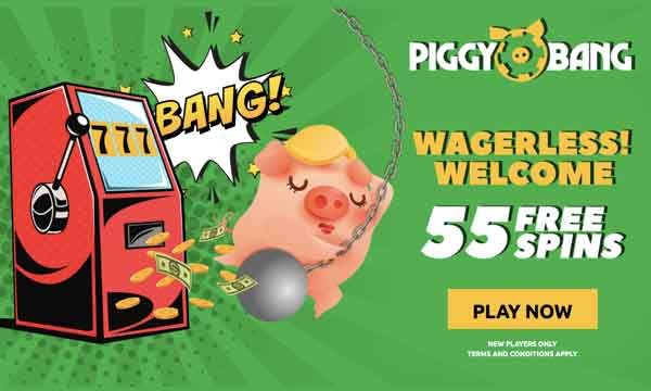piggy bang casino free spins no wagering