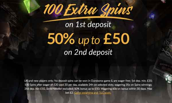 shadowbet 100 free spins bonus