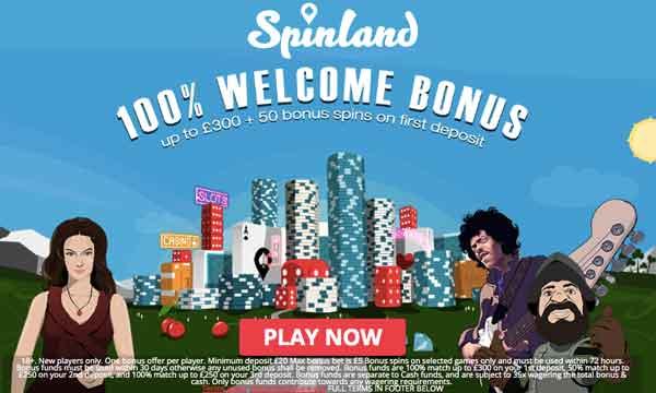 spinland 100 casino bonus