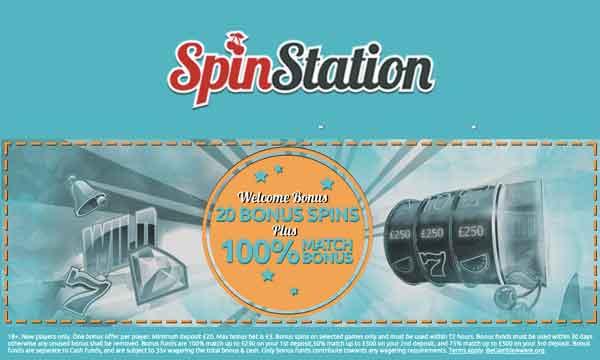 spin station 100 casino bonus