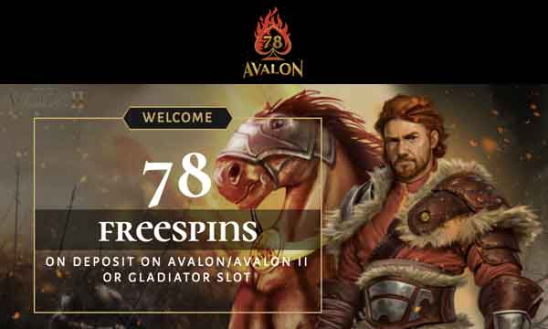 avalon78 casino free spins bonus