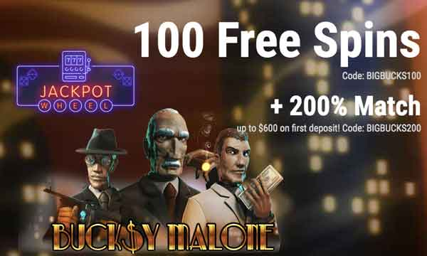 jackpot wheel 200 casino bonus