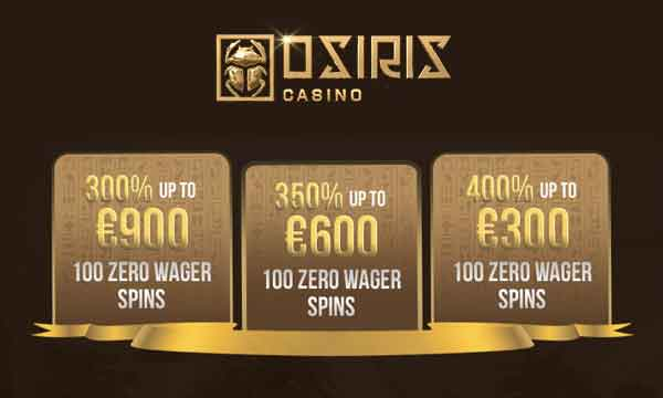 osiris casino no wagering bonus