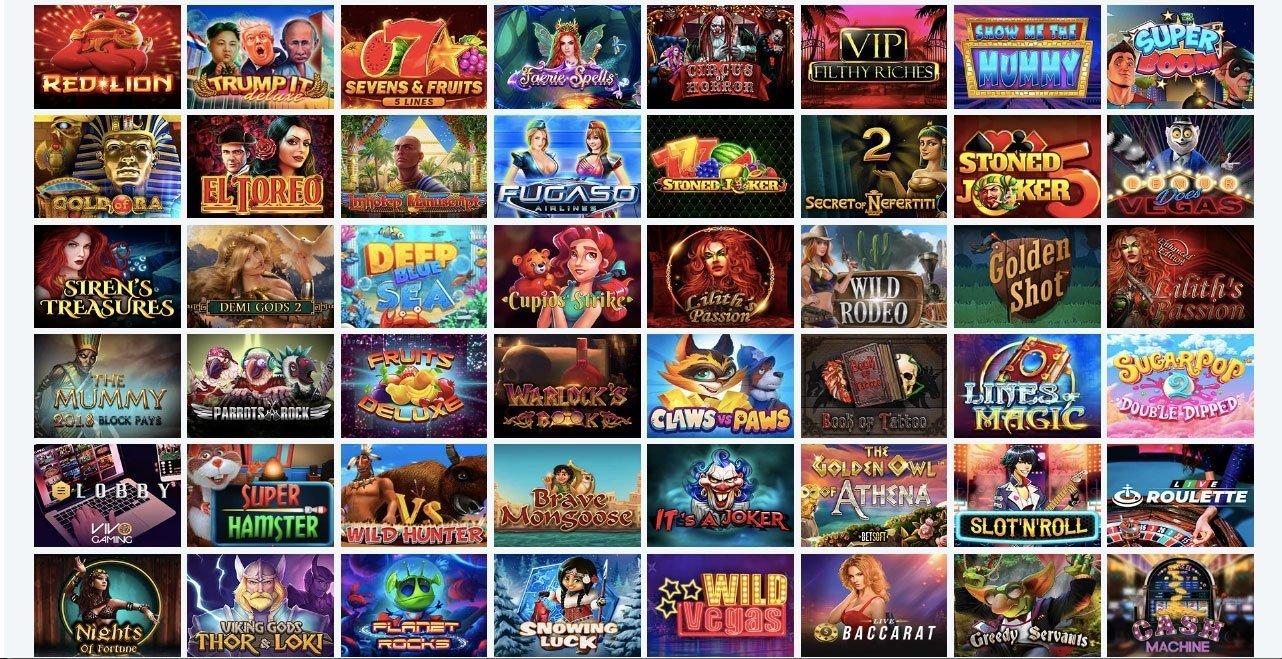 royalspinz games lobby