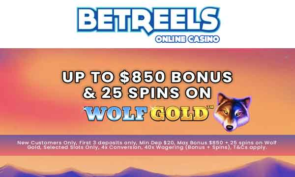 betreels 200% casino bonus