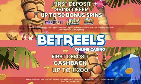 betreels uk welcome bonus