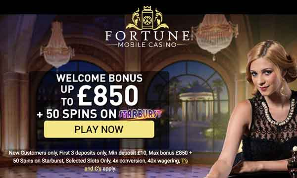 fortune mobile casino 200 bonus