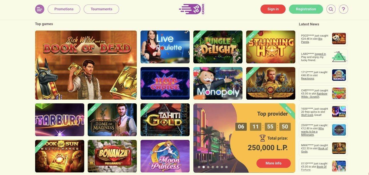 Casino Games List Free
