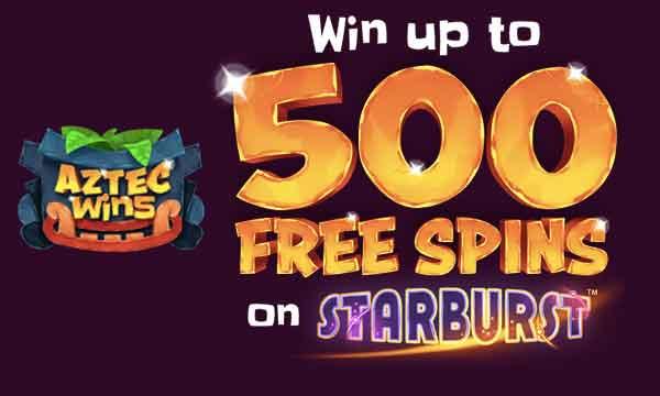 aztec wins free spins bonus